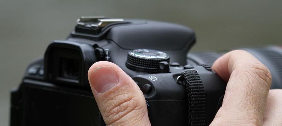 Nós emprestamos câmera