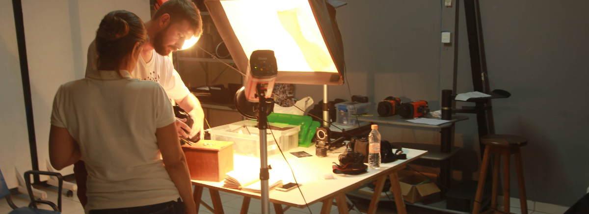Estudio 3 da escola de fotografia